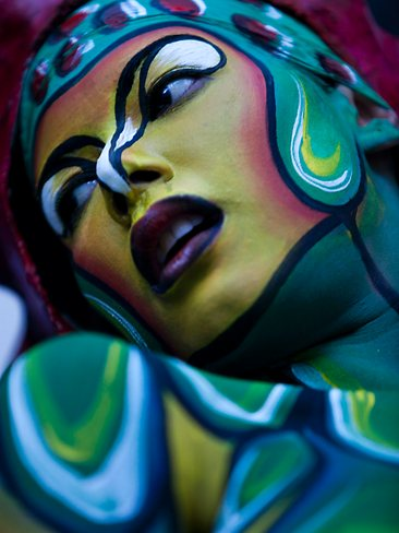 The Coolest Photos Of The Venezuela Tattoo International Expo Venezuela body art photos